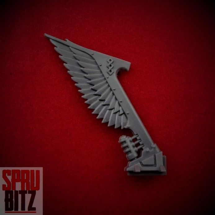Ravenwing Command Squad Apothecary Bike Wing Tail Banner